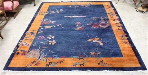 Orange And Navy Rug by 350 Burnt Orange And Navy Area Rug Lot 350