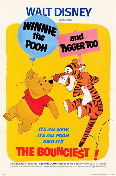 disney world tagline winnie the pooh and tigger too movie posters from movie