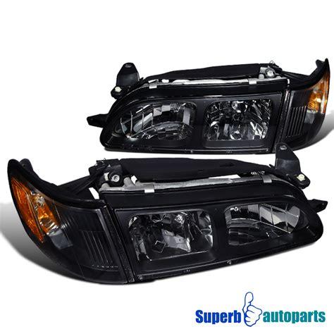 Headl Toyota Soluna 1997 99 Kanan 1993 1997 toyota corolla lights black corner ls ebay