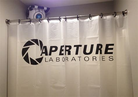portal shower curtain gaming in the bathtub page 4 neogaf