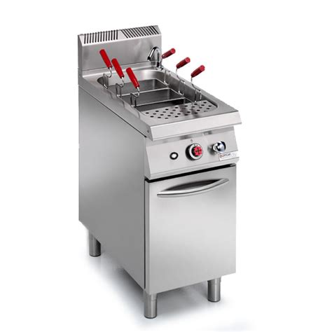 Machine Around Pan Stainless Steel 304 Jp commercial gas pasta cooker 1 tank 45l stile 990