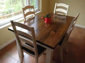 walnut kitchen table and chairs sue 4 5ft foot farmhouse dining kitchen table all