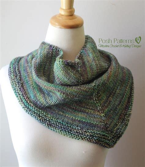 Knitting Pattern Sites | triangle scarf knitting pattern shawl kerchief pattern