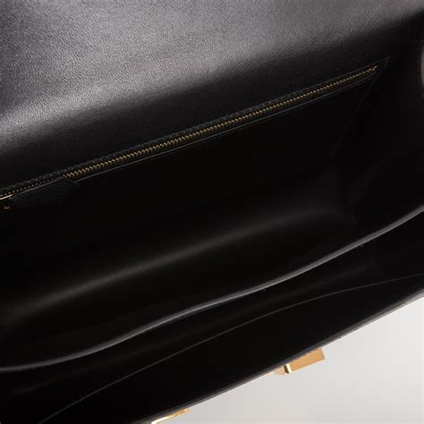 Fashion Black Hardware hermes constance bag 24cm black epsom gold hardware world s best