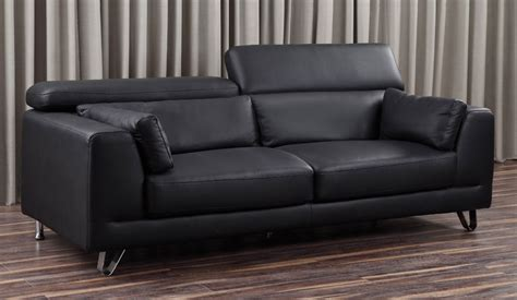 venezia leather sectional and ottoman venezia top grain leather 3 seater sofa with adjustable