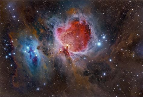 imagenes del universo en vivo great orion nebula hubble pics about space