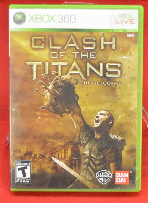 clash of the titans xbox 360 game hot spot collectibles and toys xbox 360 clash of the