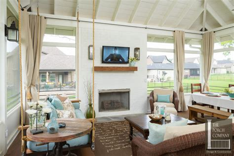 screen porch weather curtains screened porch with all weather porch curtains porch