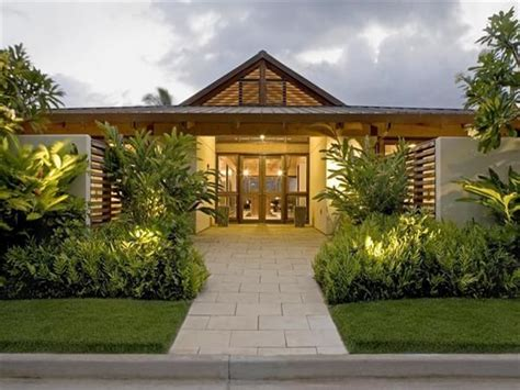 hawaiian home plans hawaiian houses hawaiian plantation style home plan