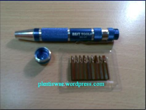 Obeng Handpone pt atk universal obeng handphone model pulpen 9 in 1
