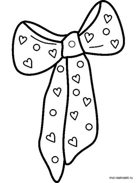 Bow Coloring Page by Bows Coloring Pages Free Printable Bows Coloring Pages
