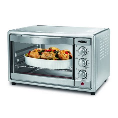 New Toaster Oven Oster Tssttvrb04 6 Slice Convection Toaster Oven Brushed