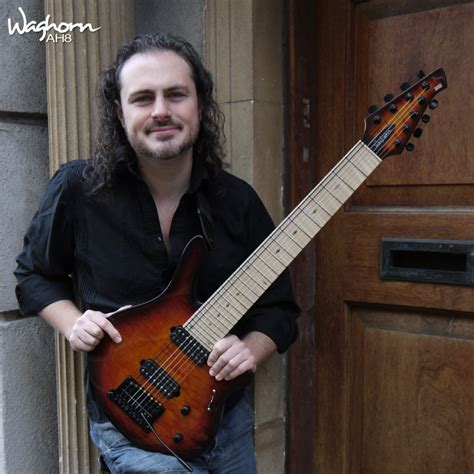 Alex Hutchings Guitarist waghorn guitars alex hutchings ah8