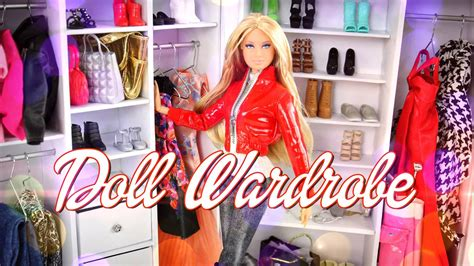 fashion doll wardrobe diy how to make a doll wardrobe handmade fashion
