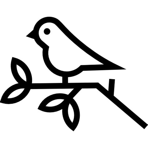 branches birds leaf animals leaves trees tree icon