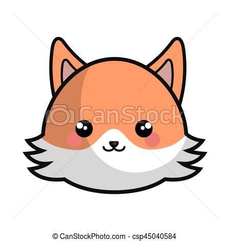 imagenes kawaii de zorros vetor de kawaii cute estilo raposa cute raposa