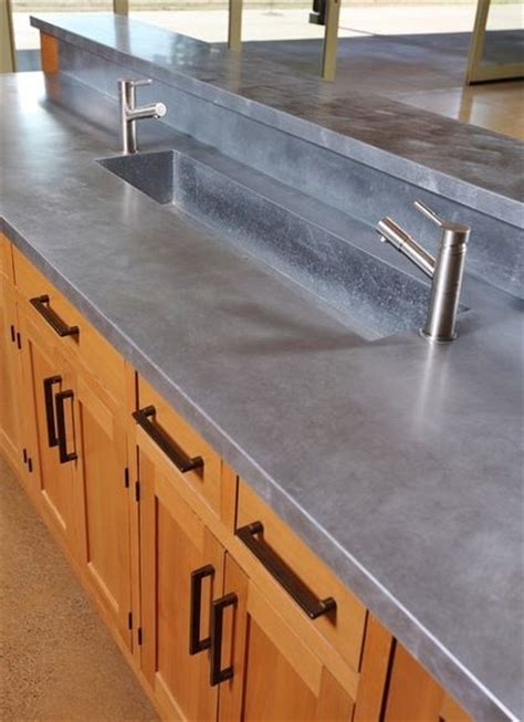 Zinc Kitchen Countertops by 25 Best Ideas About Zinc Countertops On Metal