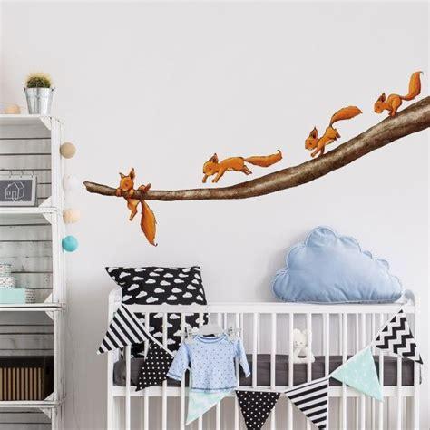 wandtattoo kinderzimmer wald die besten 25 babyzimmer wandgestaltung ideen auf