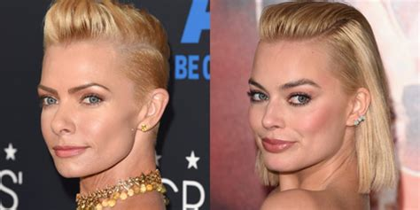 margot robbie jaime pressly more actors who look exactly like identical twins
