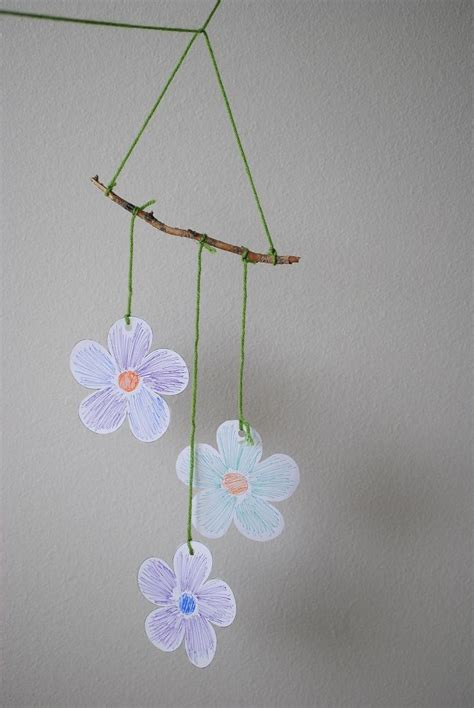 wind chime craft for crafts for make a wind chime saturday