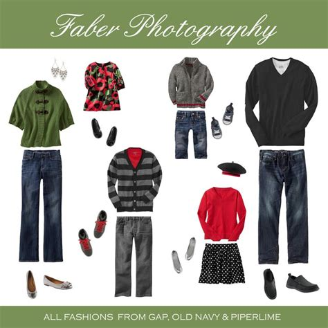 family winter or christmas outfit ideas for family