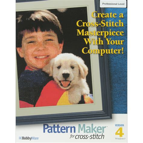 hobbyware pattern maker for cross stitch hobbyware pattern maker cross stitch software