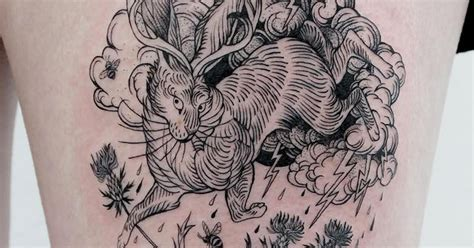 fine art tattoo designs line artist creates detailed black ink