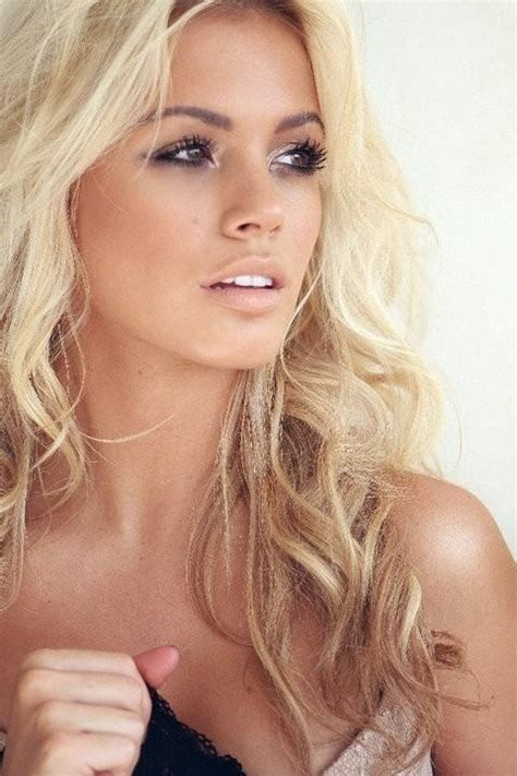 blonde hairstyles with makeup blonde girl hair makeup hot pinterest summer