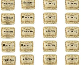 printable hennessy label blank hennessy label template related keywords blank
