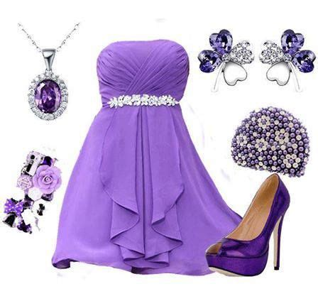what goes with purple formal dress trends heylovelygirl