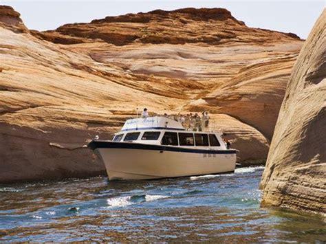 lake chelan boat company navajo and antelope canyon boat tour at lake powell resort