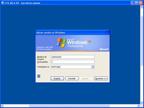 descargar escritorio remoto windows xp controla ordenadores remotamente con windows xp
