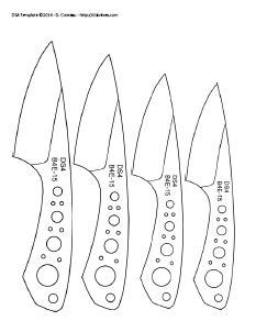 printable knife template knife making templates patterns https drive google com