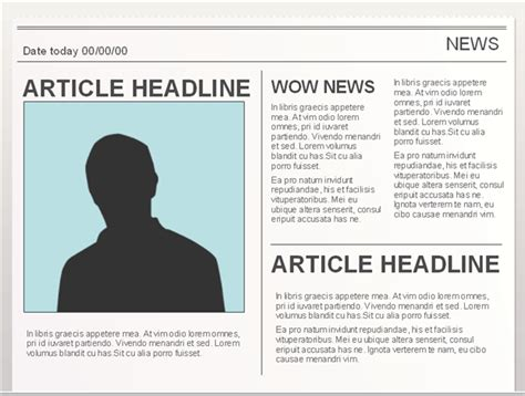editable newspaper report template easy to edit doc editable newspaper template to