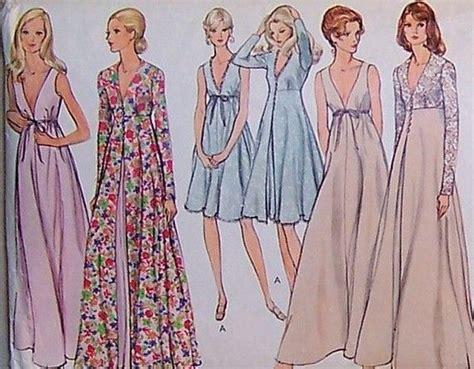 vintage nightwear pattern vintage vogue lingerie pattern 8171 vintage patterns