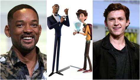 filme schauen spies in disguise spies in disguise will smith e tom holland sono nel cast
