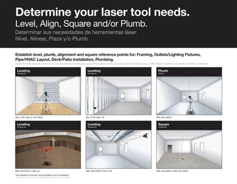 laser level layout tool johnson rotary laser level tripod case kit leveling layout