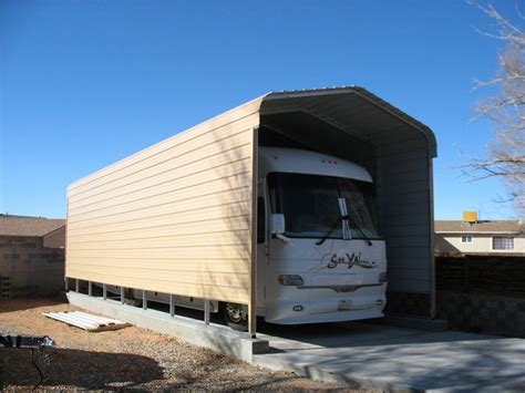 rv slipcovers rv carports metal rv covers