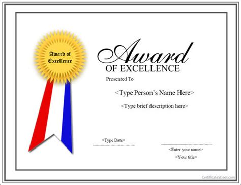 13 Sle Certificates Documents Download In Pdf Word Psd Award Certificate Template Photoshop