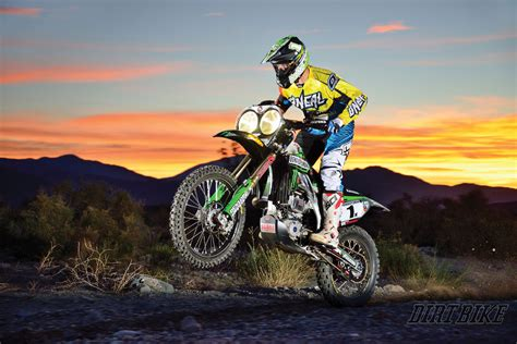 Kaos Kawasaki Racing Abu ricky brabec the mojave baja abu dhabi and beyond dirt bike magazine