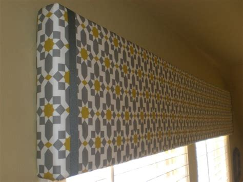 diy valance curtains diy fabric box valance home decor pinterest cornice