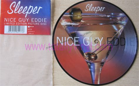 Sleeper Eddie totally vinyl records sleeper eddie 7 inch picture disc vinyl