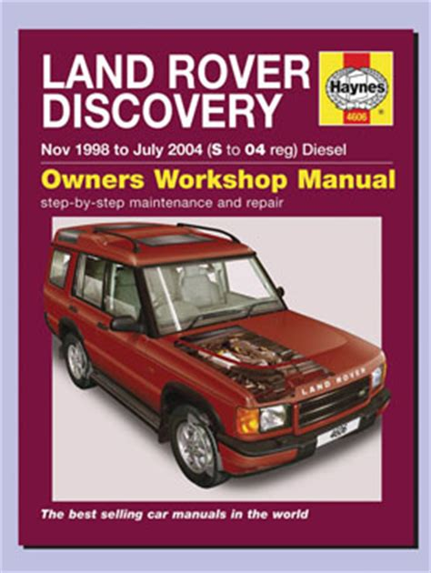 best car repair manuals 1989 land rover range rover electronic throttle control haynes manual discovery 2 td5 1998 2004 island 4x4 specialists in land rover and range rover
