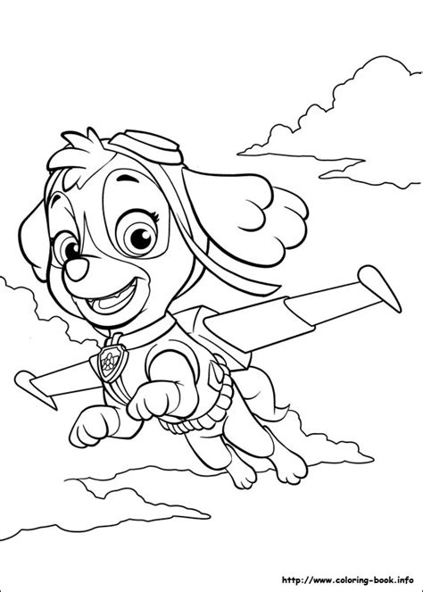 paw patrol birthday coloring pages skye paw patrol coloring pages zac party pinterest