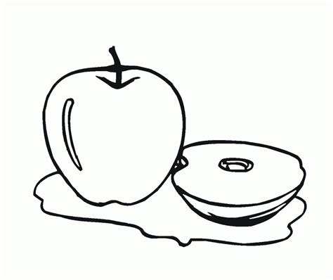 red apple coloring page the delicious fruit apple coloring page for kids red