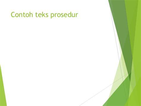 langkah2 membuat teks prosedur teks prosedur kompleks bahasa indonesia citra pramita