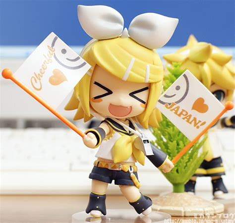 Nendoroid Kagamine Rin Cheerful Ver Kws fiche de rin kagamine version cheerful japan vocaloid nendoroid ねんどろいど doroth 233 e bresson