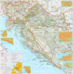 detailed map of maps of croatia detailed map of croatia in