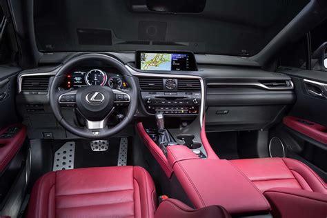 lexus rx 350 interior 2017 2017 lexus rx 350 f sport interior motor trend