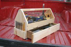 nenny homemade wood tool box